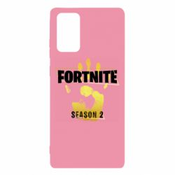 Чехол для Samsung Note 20 Fortnite season 2 gold