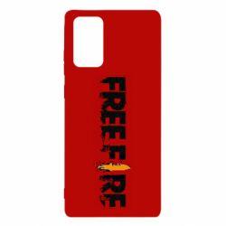 Чехол для Samsung Note 20 Free Fire spray