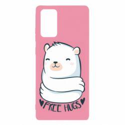 Чохол для Samsung Note 20 Free hugs bear