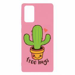 Чохол для Samsung Note 20 Free Hugs Cactus