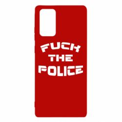 Чохол для Samsung Note 20 Fuck The Police До біса поліцію