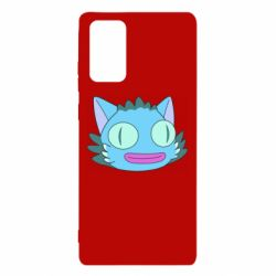 Чехол для Samsung Note 20 Funny cat from Rick and Morty season 4