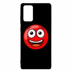 Чохол для Samsung Note 20 Funny Red Ball