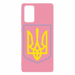 Чохол для Samsung Note 20 Герб України з рамкою