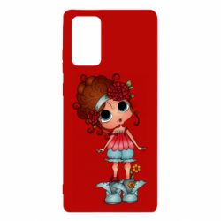 Чехол для Samsung Note 20 Girl with big eyes