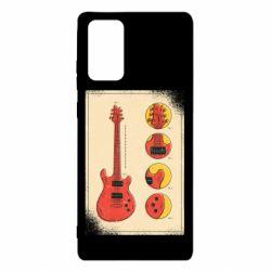 Чохол для Samsung Note 20 Гітара