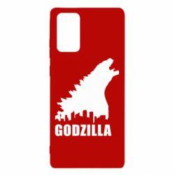Чохол для Samsung Note 20 Godzilla and city
