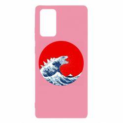 Чохол для Samsung Note 20 Godzilla Wave