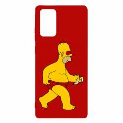 Чехол для Samsung Note 20 Гомер Симпсон в трусиках