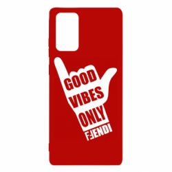 Чехол для Samsung Note 20 Good vibes only Fendi