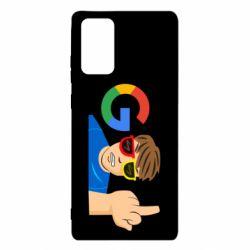 Чохол для Samsung Note 20 Google guy Fuck You