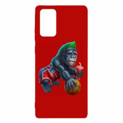 Чехол для Samsung Note 20 Gorilla and basketball ball