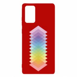 Чохол для Samsung Note 20 Gradient color transition rhombus