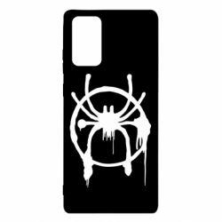 Чохол для Samsung Note 20 Graffiti Spider Man Logo