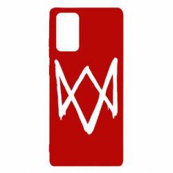 Чехол для Samsung Note 20 Graffiti Watch Dogs logo