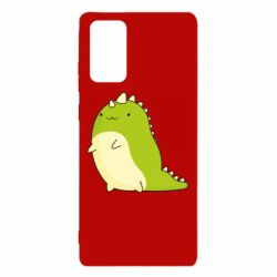 Чохол для Samsung Note 20 Green dinosaur