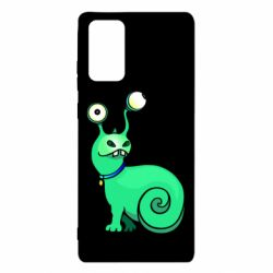 Чехол для Samsung Note 20 Green monster snail