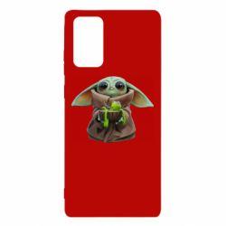 Чохол для Samsung Note 20 Grogu and Kermit