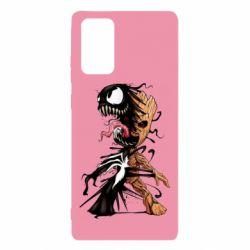 Чохол для Samsung Note 20 Groot and Venom