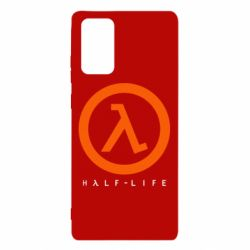 Чехол для Samsung Note 20 Half-life logotype