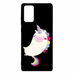 Чехол для Samsung Note 20 Happy color unicorn