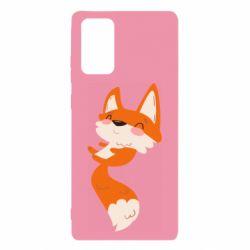 Чехол для Samsung Note 20 Happy fox