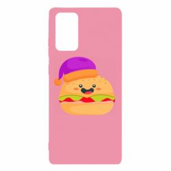 Чехол для Samsung Note 20 Happy hamburger
