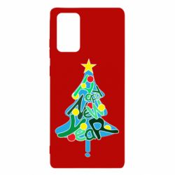 Чохол для Samsung Note 20 Happy new year on the tree