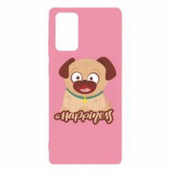 Чехол для Samsung Note 20 Happy pug