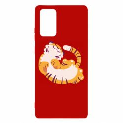 Чохол для Samsung Note 20 Happy tiger