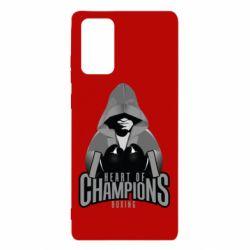 Чехол для Samsung Note 20 Heart of Champions