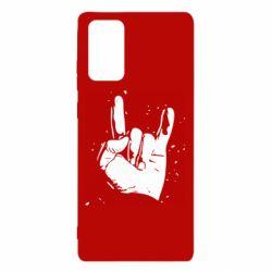 Чехол для Samsung Note 20 HEAVY METAL ROCK