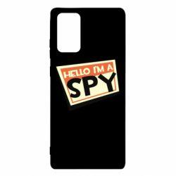 Чохол для Samsung Note 20 Hello i'm a spy