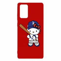 Чохол для Samsung Note 20 Hello Kitty baseball