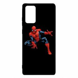 Чехол для Samsung Note 20 Hero Spiderman
