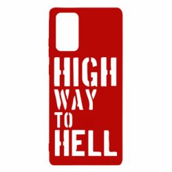 Чехол для Samsung Note 20 High way to hell