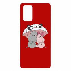 Чохол для Samsung Note 20 Hippos