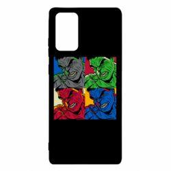 Чехол для Samsung Note 20 Hulk pop art