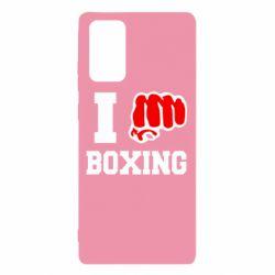 Чехол для Samsung Note 20 I love boxing