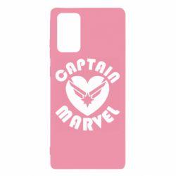 Чохол для Samsung Note 20 I love Captain Marvel
