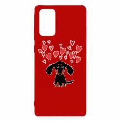Чохол для Samsung Note 20 I love dachshund