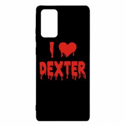 Чехол для Samsung Note 20 I love Dexter