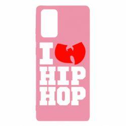 Чехол для Samsung Note 20 I love Hip-hop Wu-Tang