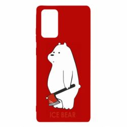 Чохол для Samsung Note 20 Ice bear