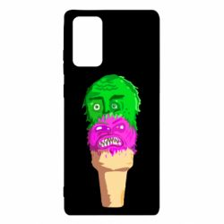 Чехол для Samsung Note 20 Ice cream with face
