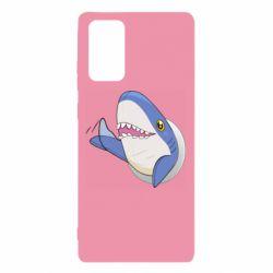 Чехол для Samsung Note 20 Ikea Shark Blahaj