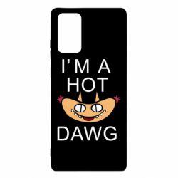 Чехол для Samsung Note 20 Im hot a dawg