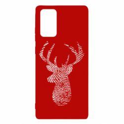 Чохол для Samsung Note 20 Imprint of human skin in the form of a deer