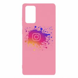 Чехол для Samsung Note 20 Instagram spray