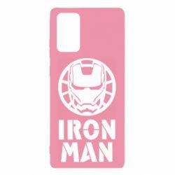 Чохол для Samsung Note 20 Iron man text